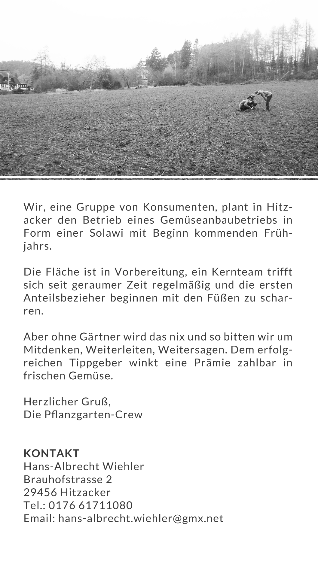 Pflanzengartencrew
